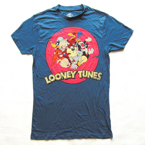 Primark Mens Official Looney Tunes T Shirt - Novelty-Characters - 1