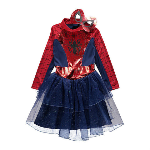 Girls Spiderman Fancy Dress Costume - Novelty-Characters - 1