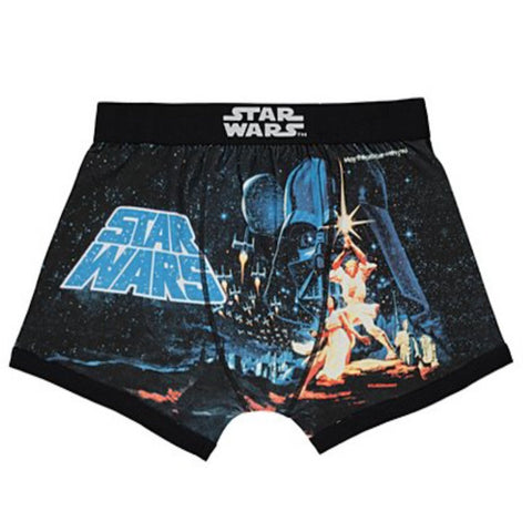 Mens Star Wars Boxers - Novelty-Characters