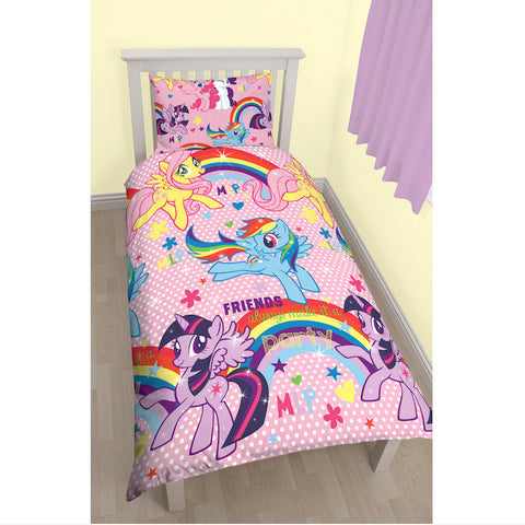 My Little Pony Single Duvet Cover Set - Novelty-Characters