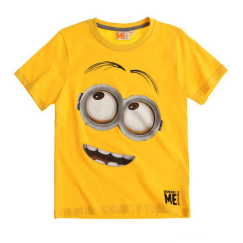 Boys Minion T Shirt - Novelty-Characters