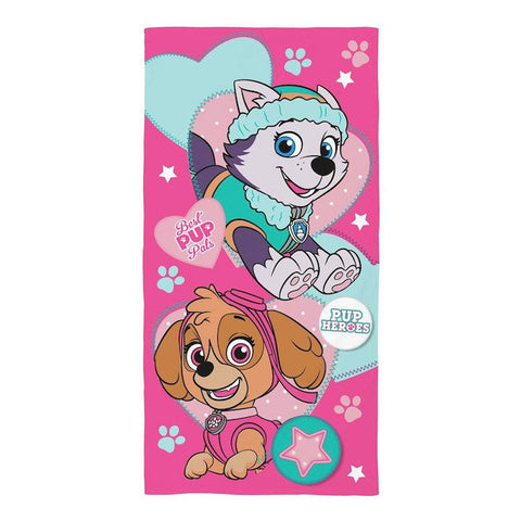Girls Paw Patrol Skye & Everest Towel