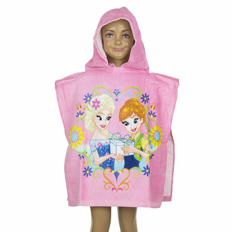 Disney Frozen Hooded Poncho Towel - Novelty-Characters