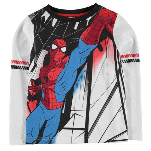 Boys Marvel Spiderman Long Sleeve Top