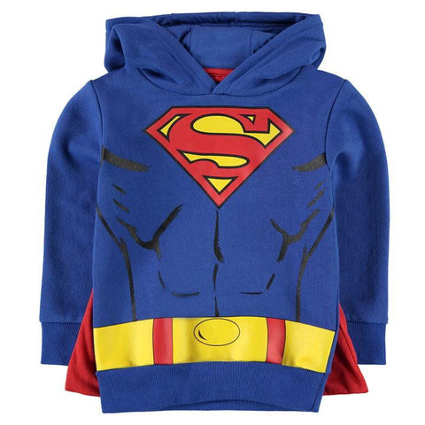 Kids Superman Hoodie With Cape