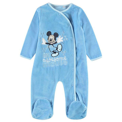 Disney Baby Mickey Mouse Velour Suit