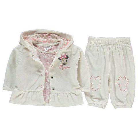 Disney Baby Minnie Mouse 3 Piece Tracksuit Set
