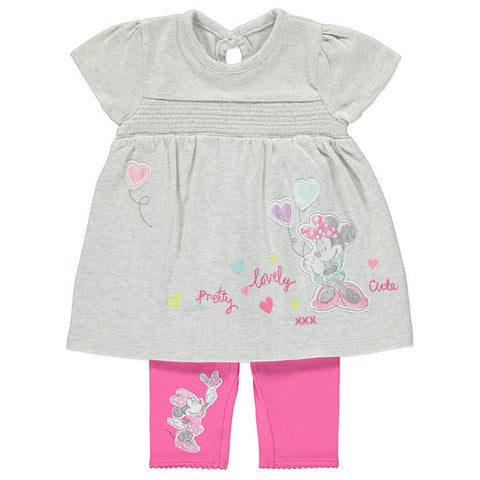 Disney Baby Minnie Mouse Top & Leggings Set