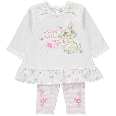 Disney Baby Miss Bunny Outfit Set