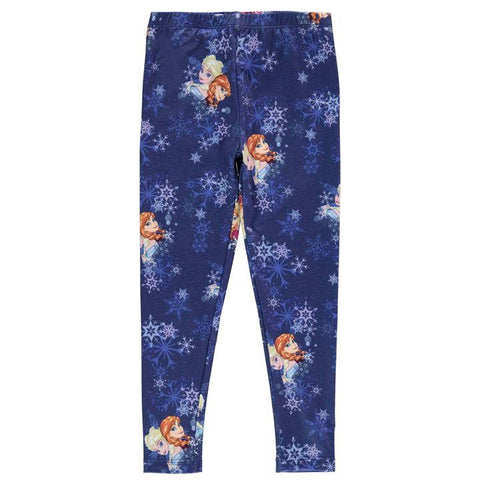 Girls Disney Frozen Leggings