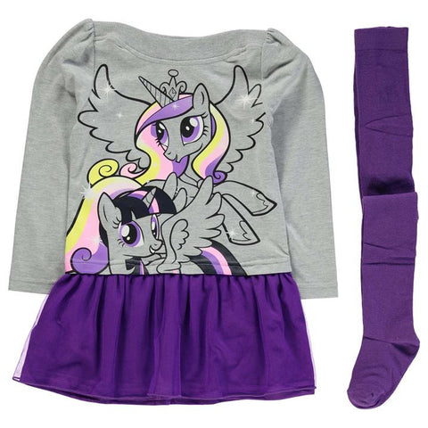 Girls My Little Pony Dress Set - Novelty-Characters - 1