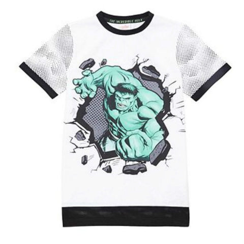Boys Marvel Avengers Hulk T Shirt