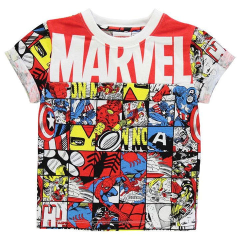 Boys Marvel Avengers T Shirt