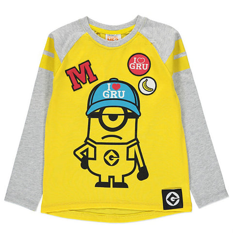 Kids Despicable Me 3 Minion Long Sleeve Top