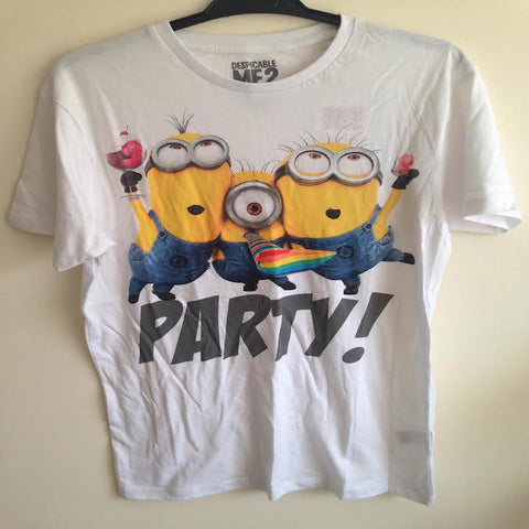 Primark Mens Despicable Me Minions Party T Shirt - Novelty-Characters - 1