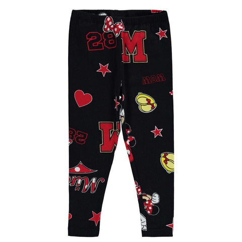 Girls Disney Minnie Mouse Leggings