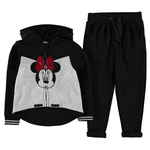Girls Disney Minnie Mouse Tracksuit Set