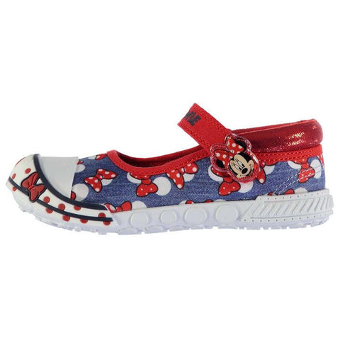 Girls Disney Minnie Mouse Canvas Shoes - Novelty-Characters - 1