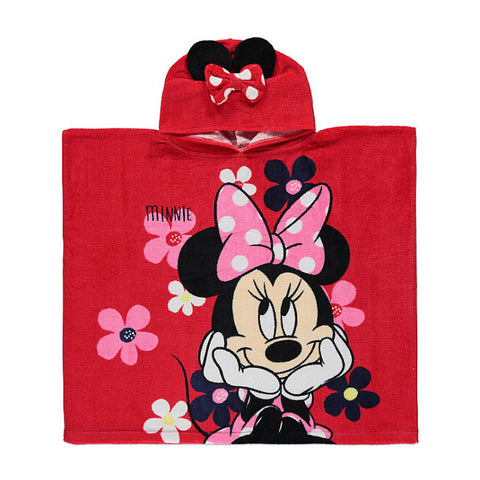 Official Disney Minnie Mouse Poncho Towel US