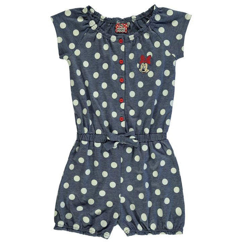Girls Disney Minnie Mouse Playsuit