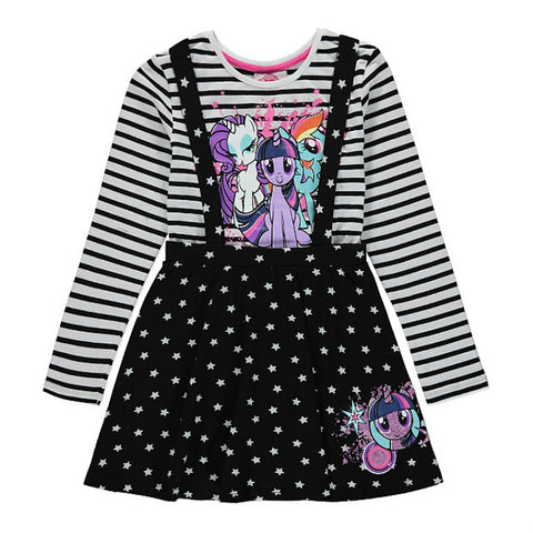 Girls My Little Pony Pinafore Dress Set - Novelty-Characters - 1