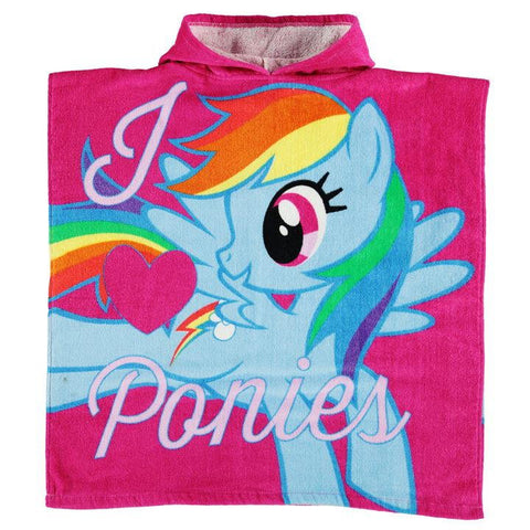 My Little Pony Hooded Poncho Towel
