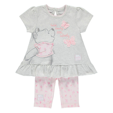 Disney Baby Girl Winnie The Pooh Outfit Set