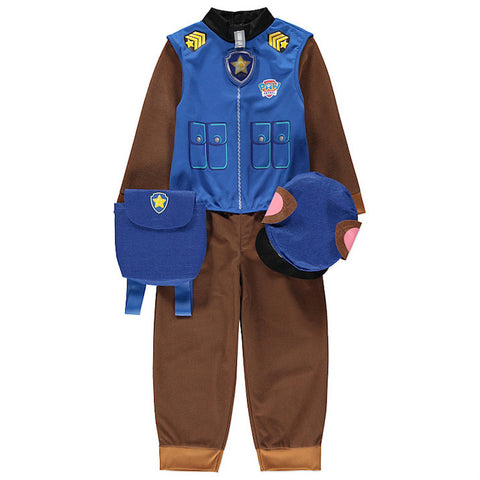 Paw Patrol Chase Fancy Dress Costume - Novelty-Characters - 1