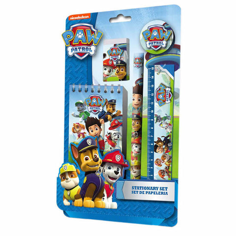 Paw Patrol 5 Piece Stationary Set - Novelty-Characters