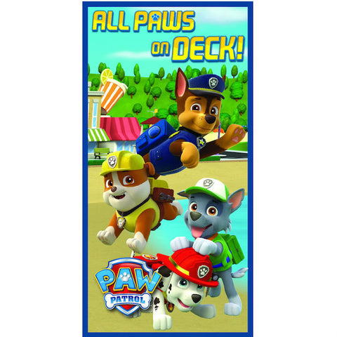 Paw Patrol Beach Towel - Novelty-Characters