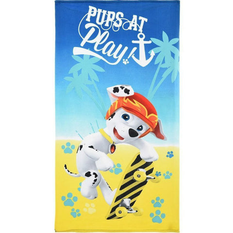 Paw Patrol Marshall Beach Towel