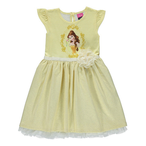 Girls Disney Beauty And The Beast Belle Dress