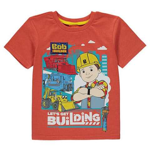 Bob The Builder Short Sleeve T Shirt