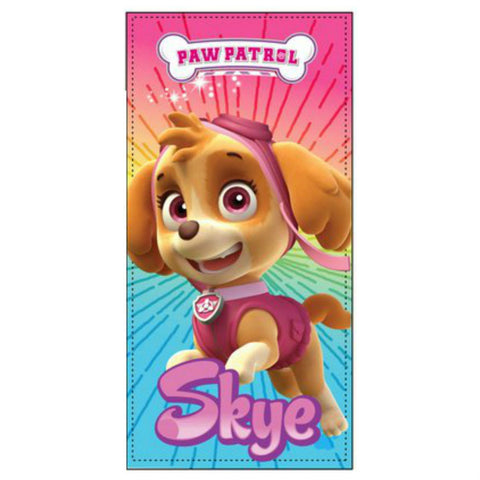 Girls Paw Patrol Skye Beach Towel UK