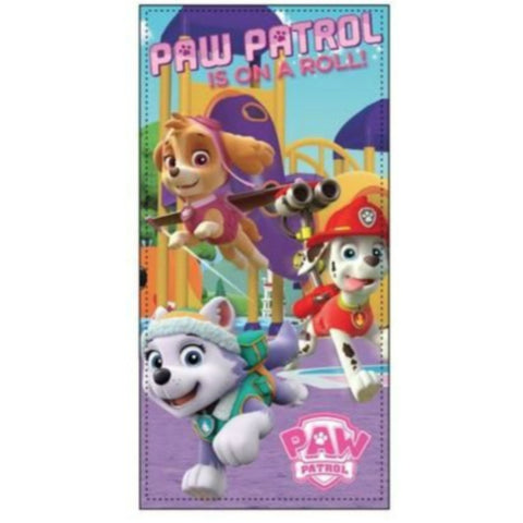 Girls Paw Patrol Beach Towel