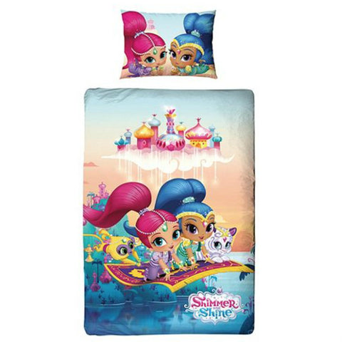 Shimmer And Shine Single Duvet Cover Set - Novelty-Characters - 1