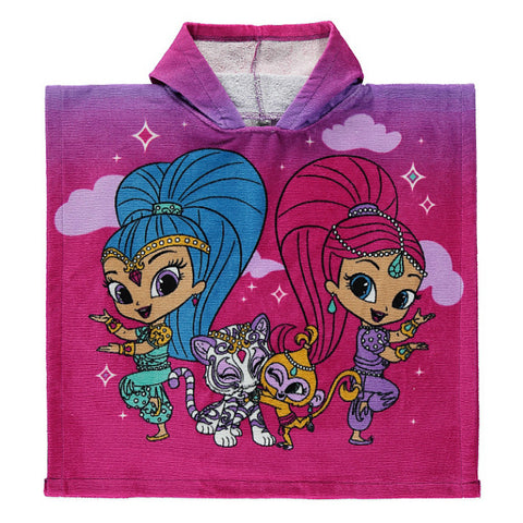 Shimmer And Shine Hooded Towel