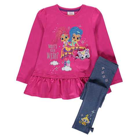 Shimmer And Shine Top & Leggings Set - Novelty-Characters - 1