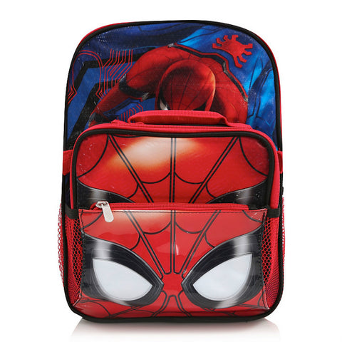 Marvel Spiderman Homecoming Backpack & Lunch Bag