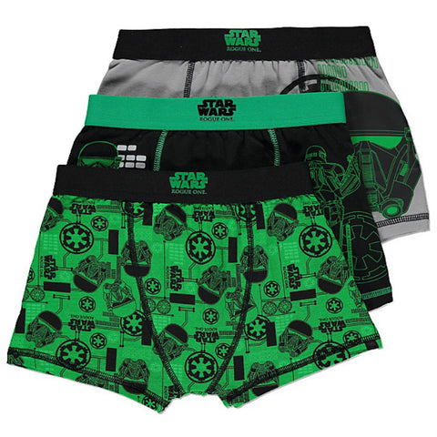 Boys Star Wars Rogue One Boxers 3 Pack