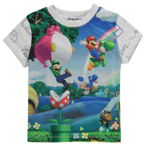 Boys Nintendo Super Mario T Shirt