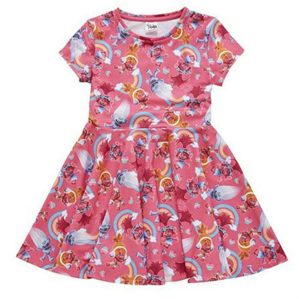 Girls DreamWorks Trolls Jersey Dress