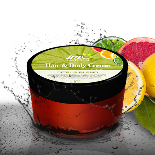 4oz Beauty Citrus Blend Body Creme - ImoNatural