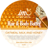 4oz Beauty Oatmeal Milk and Honey Body Butter - ImoNatural