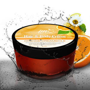 8oz Beauty Orange Creamsicle Body Creme - ImoNatural