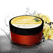 Load image into Gallery viewer, 4oz Beauty Vanilla Buttercream Hair and Body Butter - ImoNatural