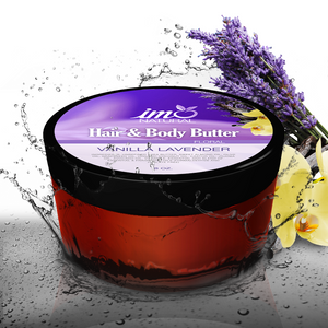 Vanilla Lavender Hair and Body Butter 8 oz
