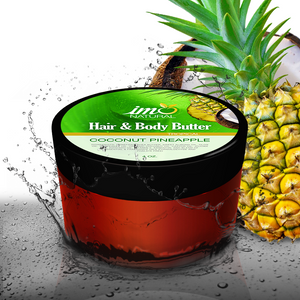 Coconut Pineapple Hair and Body Butter 4 oz