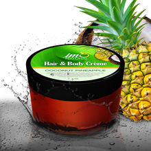 Load image into Gallery viewer, 4oz Beauty Coconut Pineapple Hair and Body Creme - ImoNatural