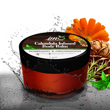 Load image into Gallery viewer, 4 oz Beauty Calendula Infused Body Balm - Rosemary & Cedarwood - ImoNatural